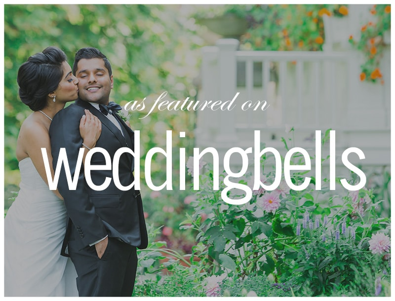 Featured on Weddingbells: Three-Part Hindu Wedding