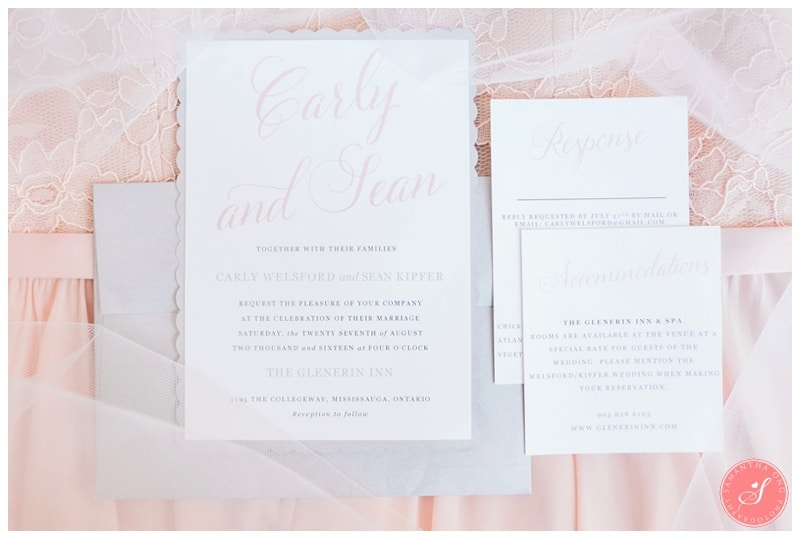 Glenerin-Inn-Mississauga-Romantic-Summer-Wedding-Photos-3-Invitations