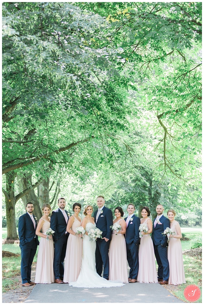 Glenerin-Inn-Mississauga-Romantic-Summer-Wedding-Photos-39-Bridal-Party-Portraits