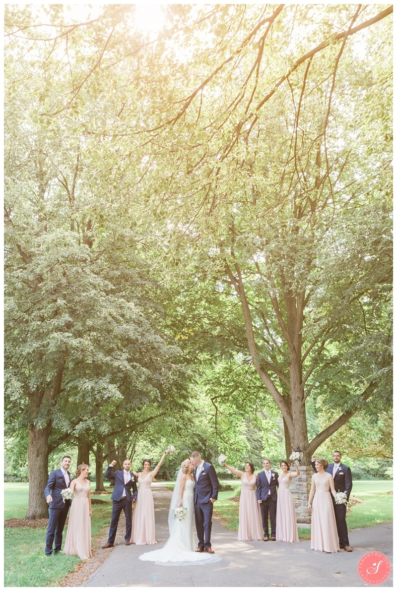 Glenerin-Inn-Mississauga-Romantic-Summer-Wedding-Photos-40-Bridal-Party-Portraits