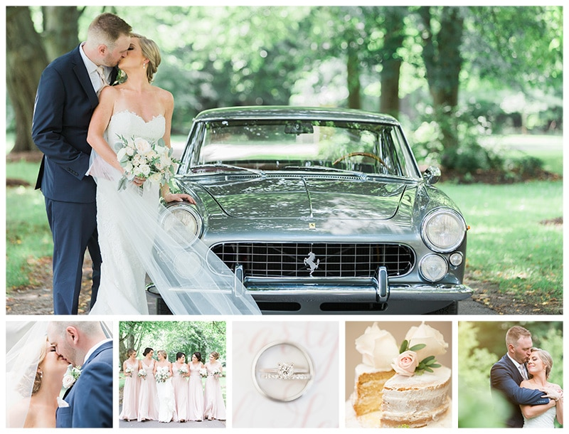 A Romantic Summer Wedding at The Glenerin Inn: Carly + Sean