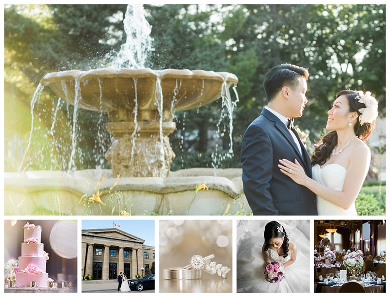 An Elegant Chinese Wedding at LIUNA Station in Hamilton: Chermain + Alex