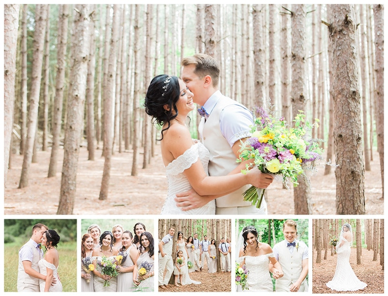 A Nature Inspired Wedding at Kortright: Lina + Daniel