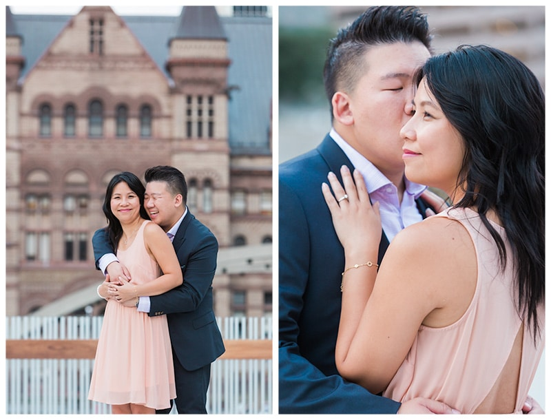 A City Engagement Session in Downtown Toronto: Si Hua + Ga-Fye