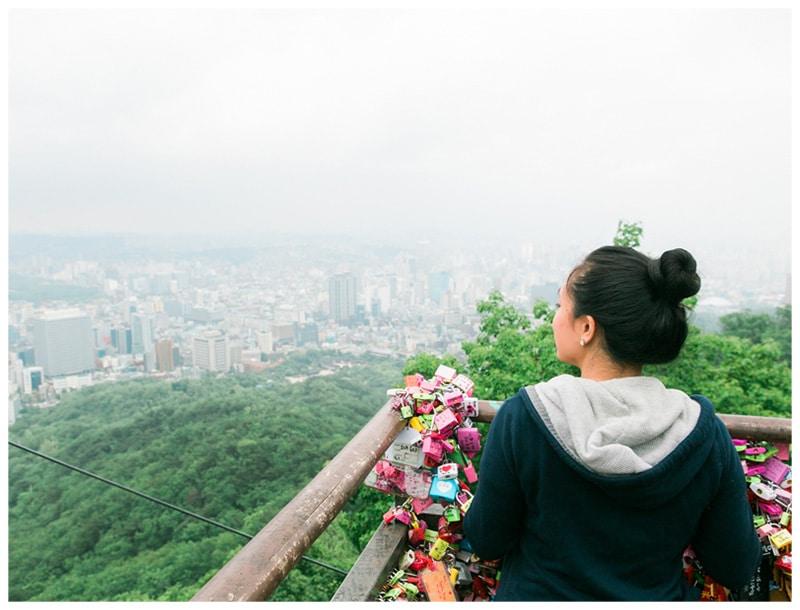 Our Mini-Moon to Seoul: Part 3 (N Seoul Tower)
