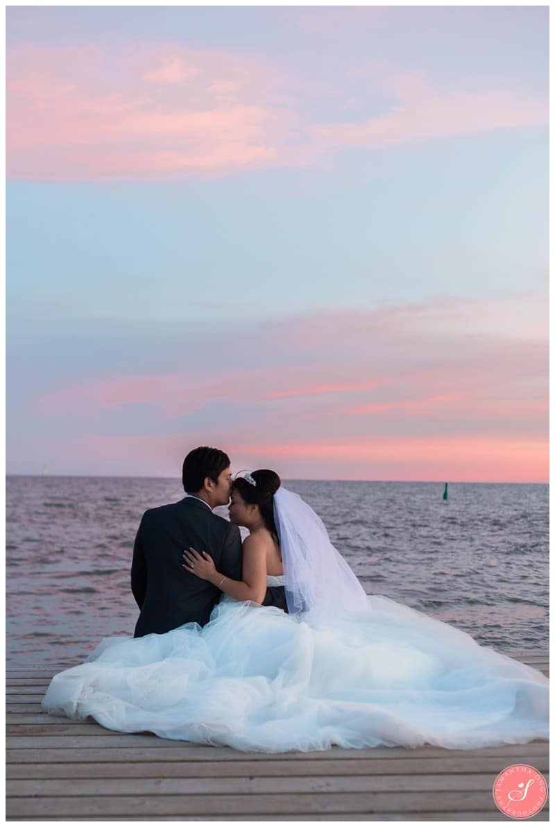 Toronto Beach Wedding Photos