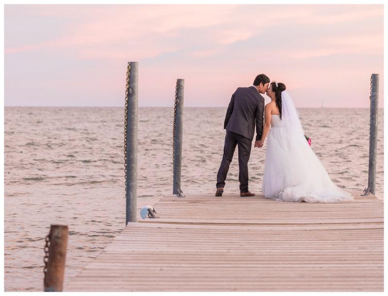 A Romantic Sunset Post-Wedding Shoot: Lili + Kif