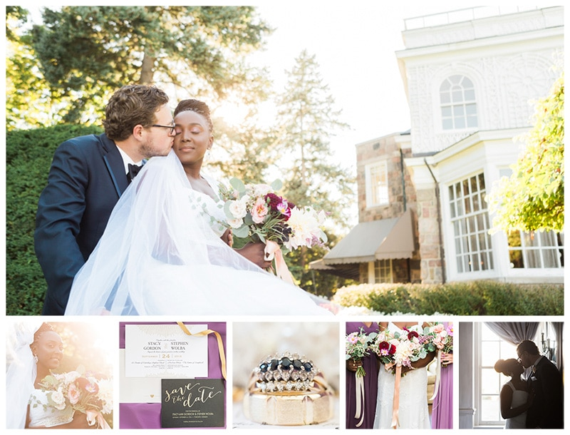 A Fall Wedding at The Estates of Sunnybrook: Stacy + Stephen