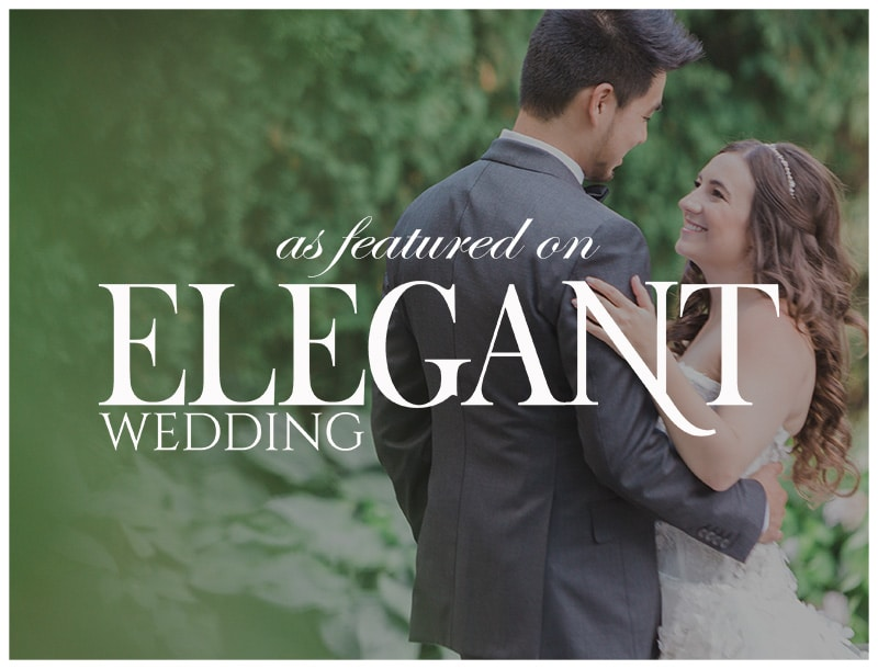 Featured on Elegant Wedding: A Midsummer Night's Dream