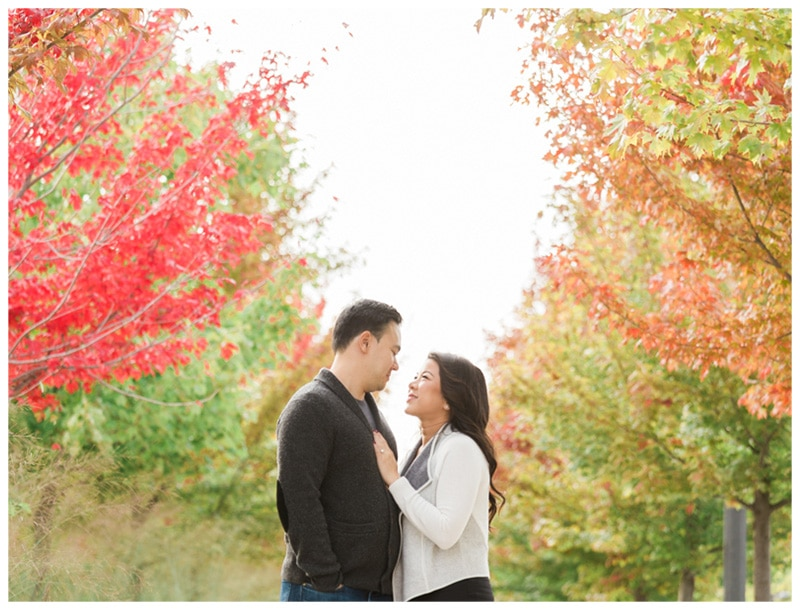 Fall Engagement in Mississauga: Lesley + Brian