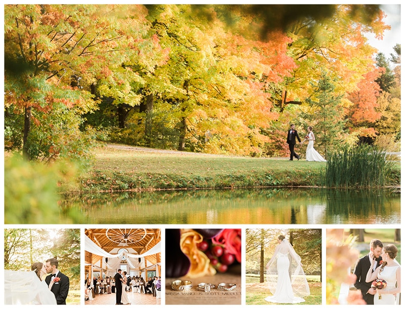 A Beautiful Fall Wedding at Trillium Trails: Marissa + Scott