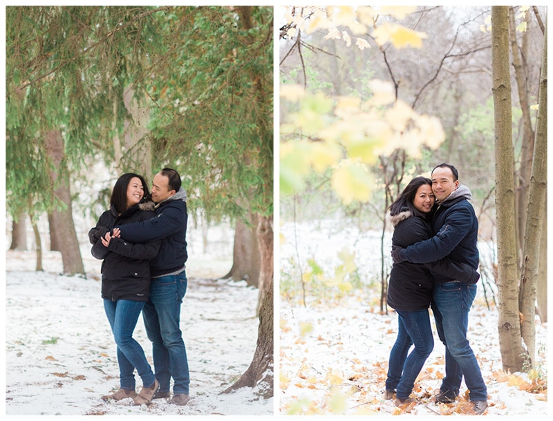 A Casual Wintery Engagement Session: Emily + Kelvin