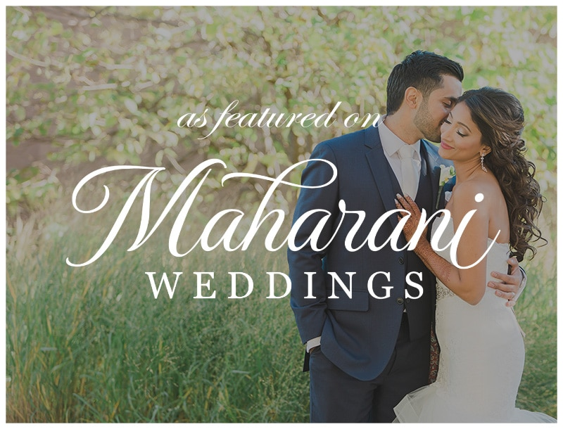 Featured on Maharani Weddings: Sabrina + Abid Wedding