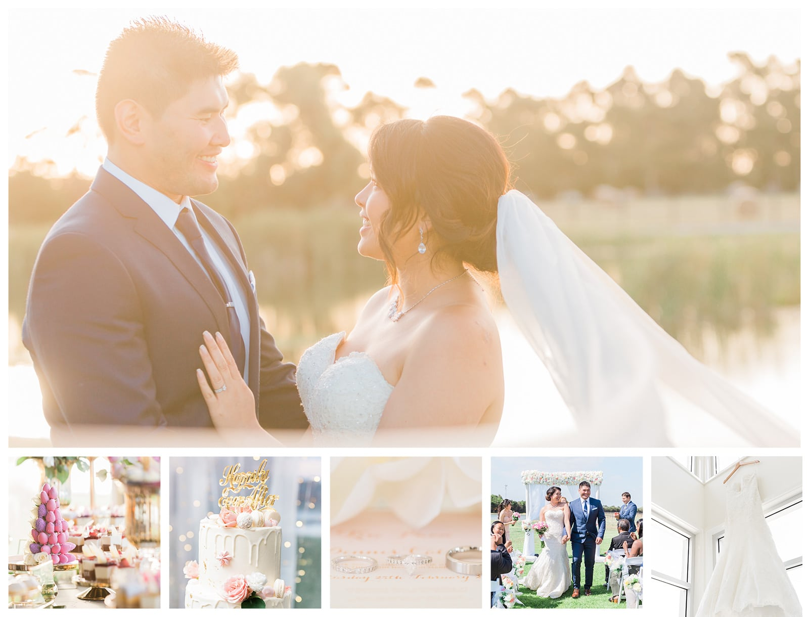Natural Outdoor Wedding at Nine Dragons in Bangholme: Kim + Dennis
