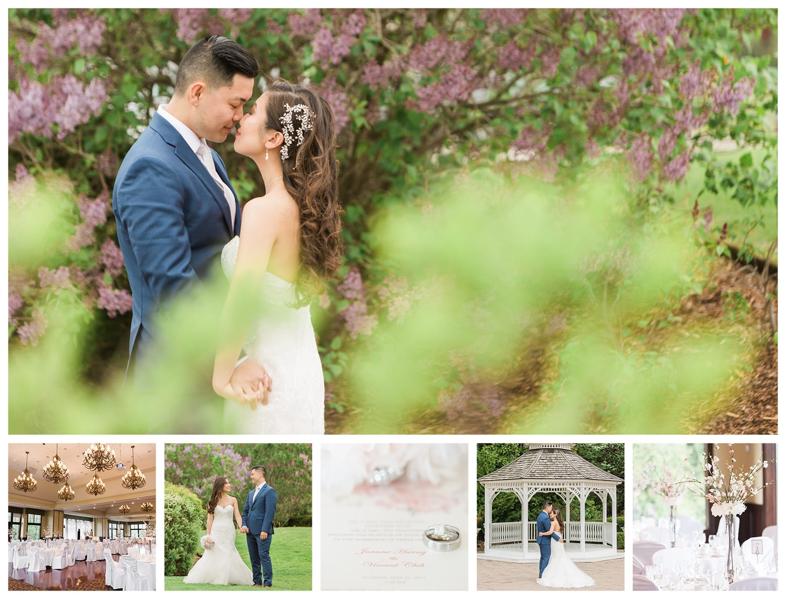 A Sweet Spring Wedding at Deer Creek Golf Club: Joanne + Vincent