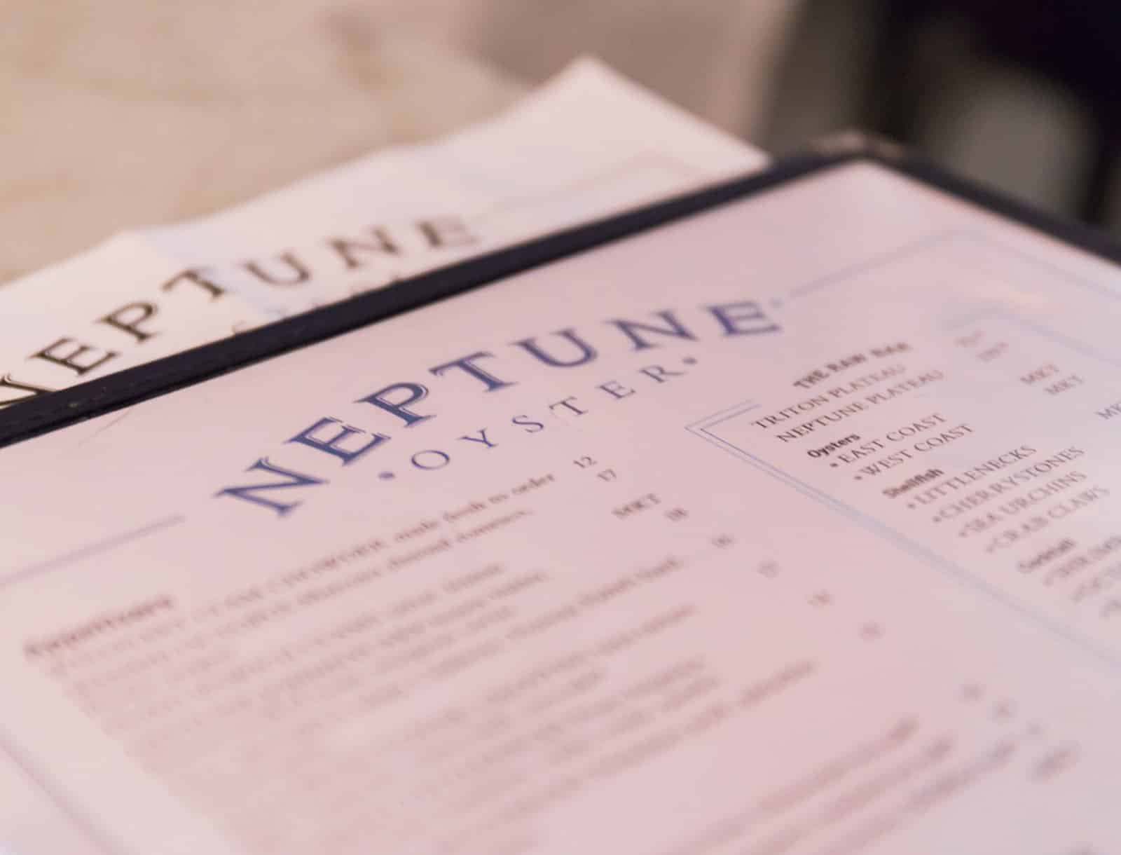 Restaurant Review: Neptune Oyster (Boston, Massachusetts, USA)