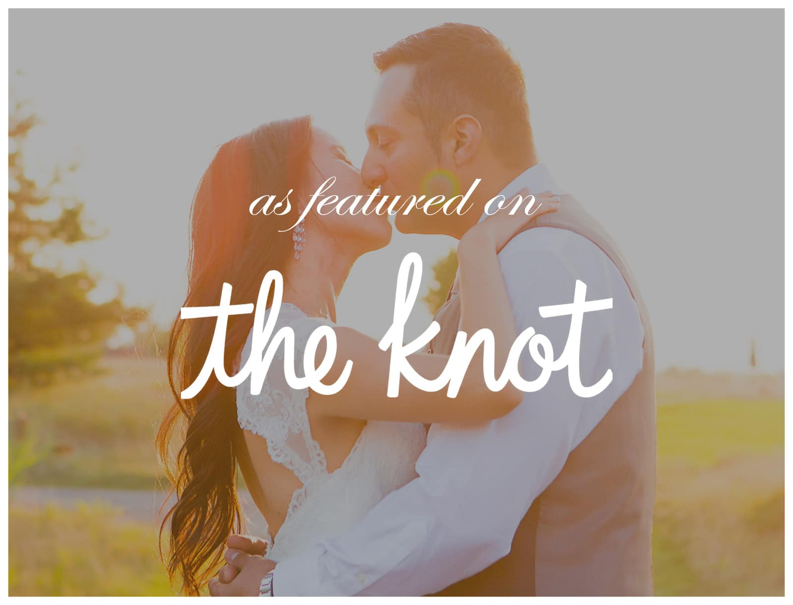 Featured on The Knot: Rustic Eco-Chic Wedding at Piper's Heath Golf Club