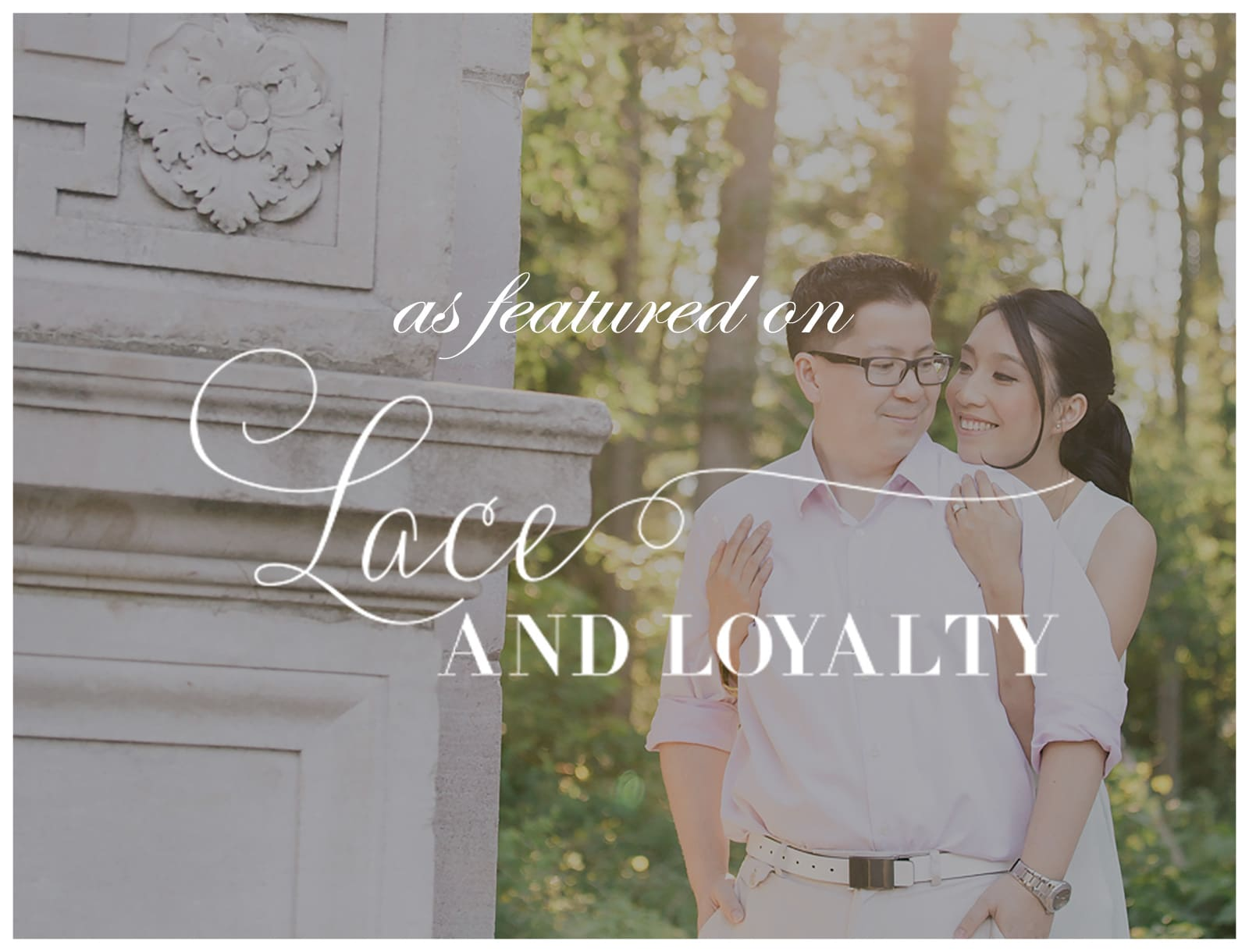Featured on Lace & Loyalty: Fairytale Ontario Engagement Session