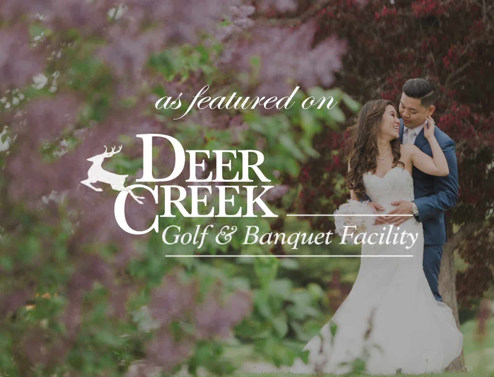 Featured on Deer Creek Golf Club Today's Bride Magazine Ad