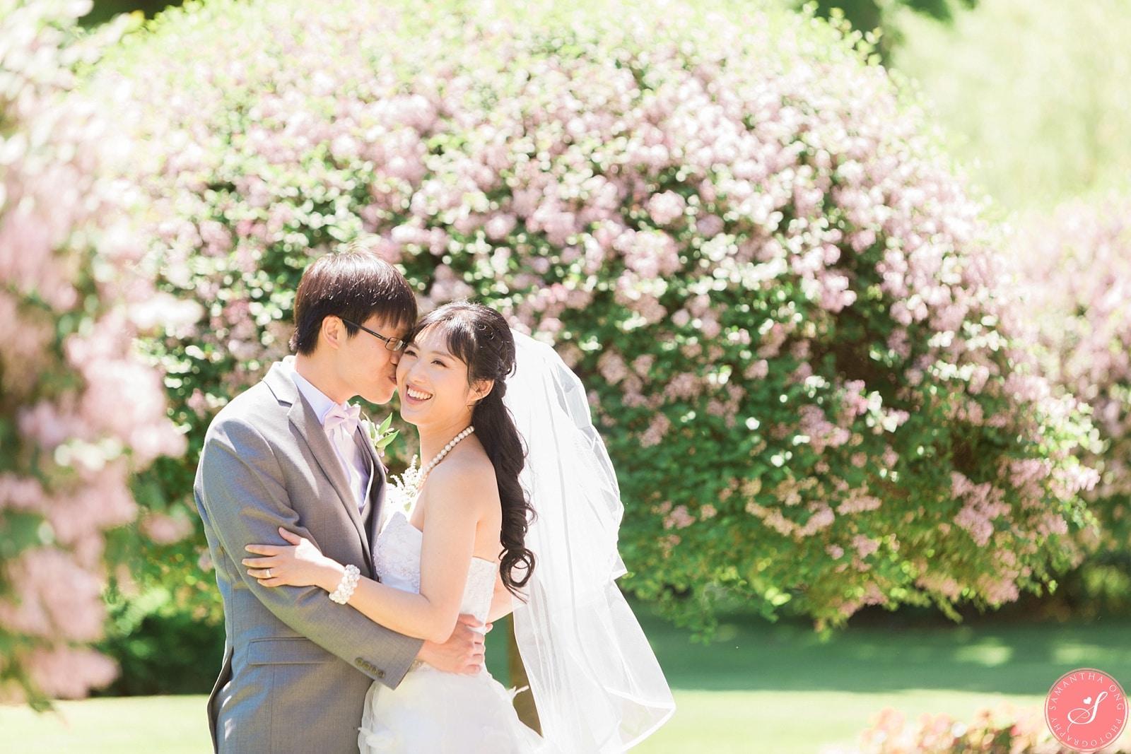 Estates of Sunnybrook Spring Wedding Photos