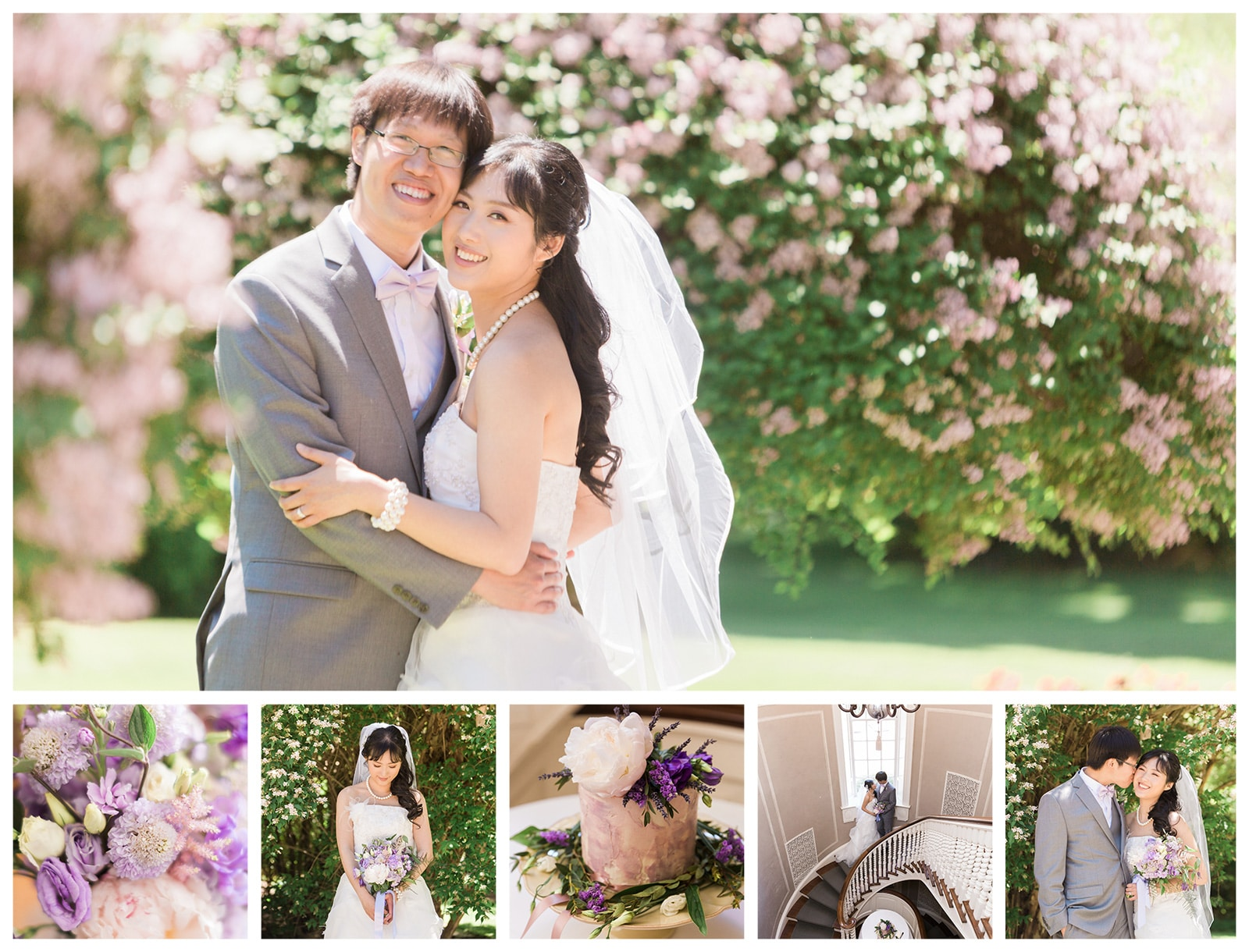 Pretty Spring Wedding at Estates of Sunnybrook: Helen + Aric