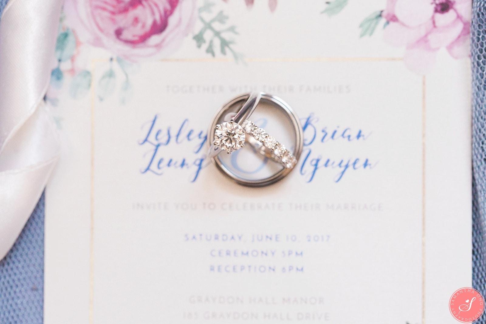 Graydon Hall Wedding Photos Toronto | Beautiful Elegant Romantic