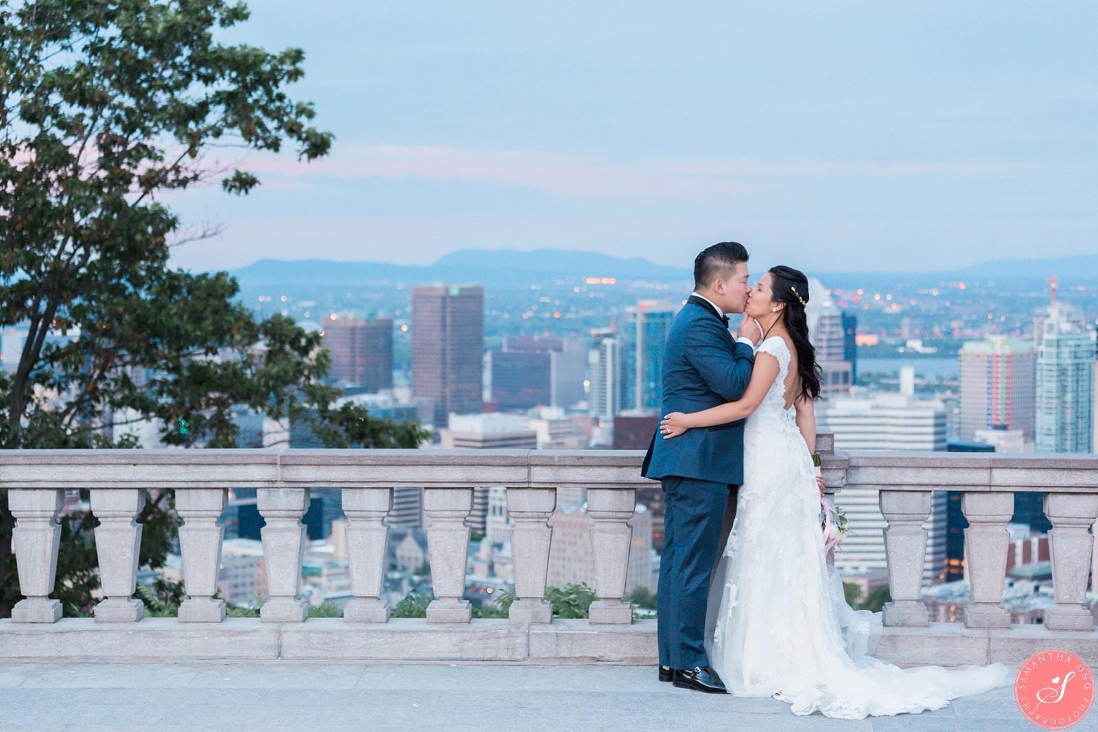 Montreal Post-Wedding Session at Chalet du Mont Royal: Si Hua + Ga ...