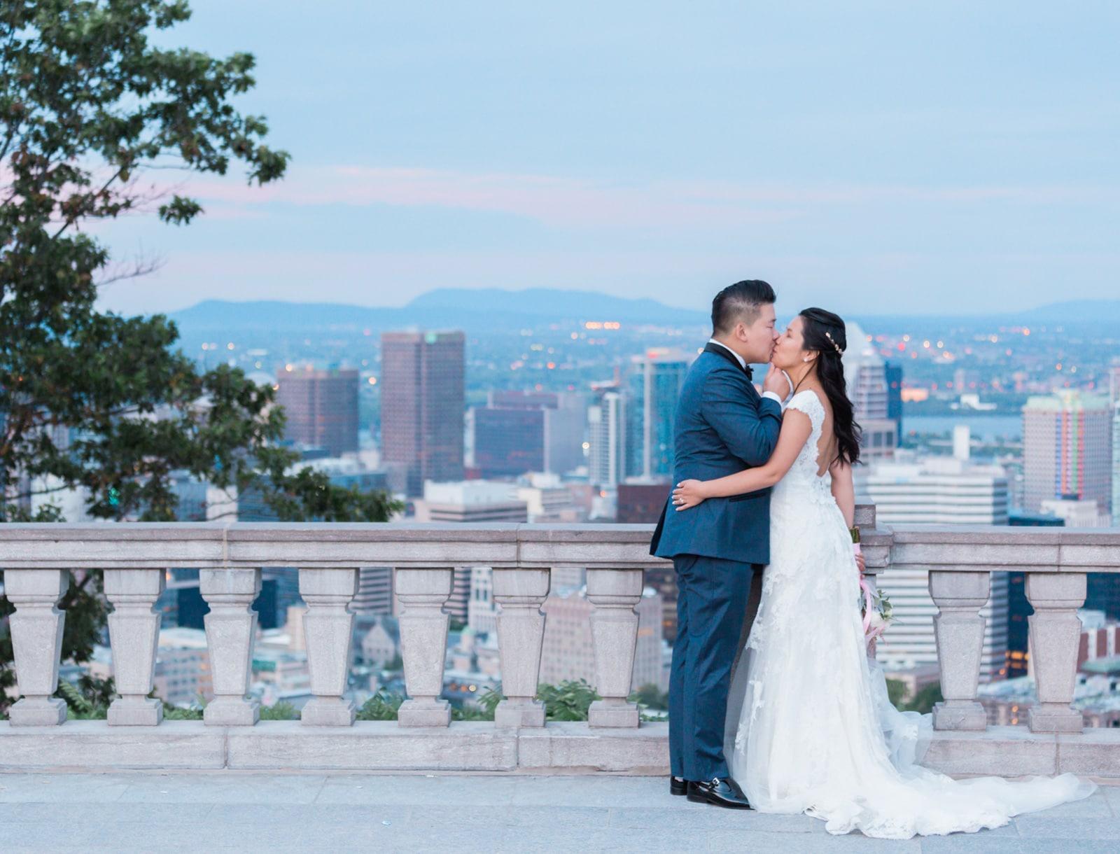 Montreal Post-Wedding Session at Chalet du Mont Royal: Si Hua + Ga-Fye