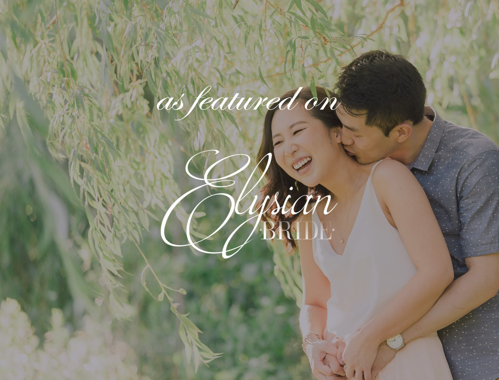 Featured on Elysian Bride: Whimsical Engagement Session in Toronto