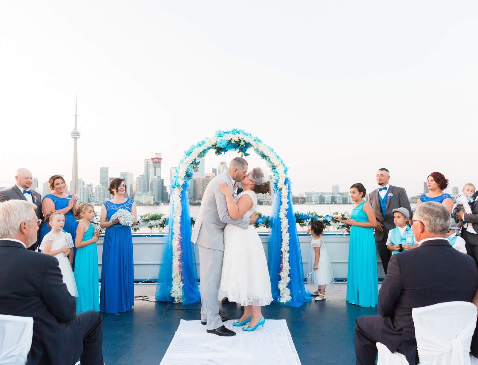 Toronto Mariposa Cruises Wedding Photos: Mariellen + Steven