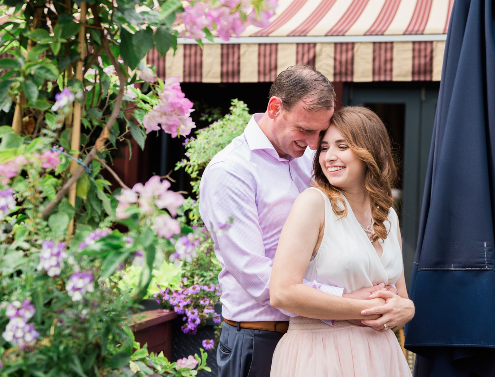 Quaint French Quebec City Engagement: Crystal + Michael
