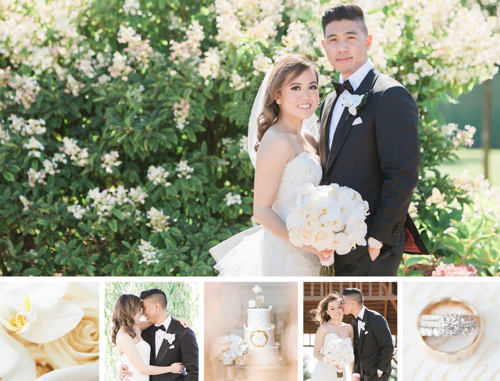 Beautiful and Romantic Church Wedding: Ellery + Michael