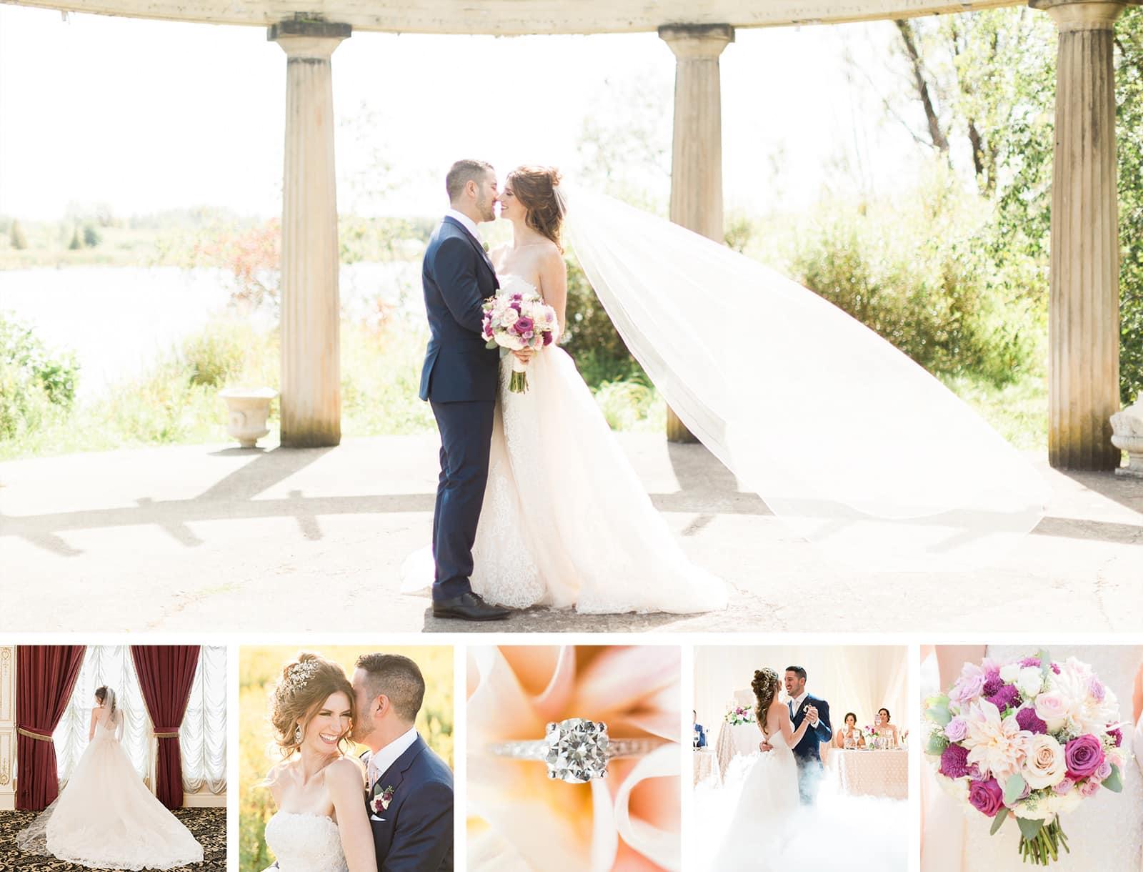 Elegant Summer Wedding at Chateau Le Jardin: Leanne + Joshua