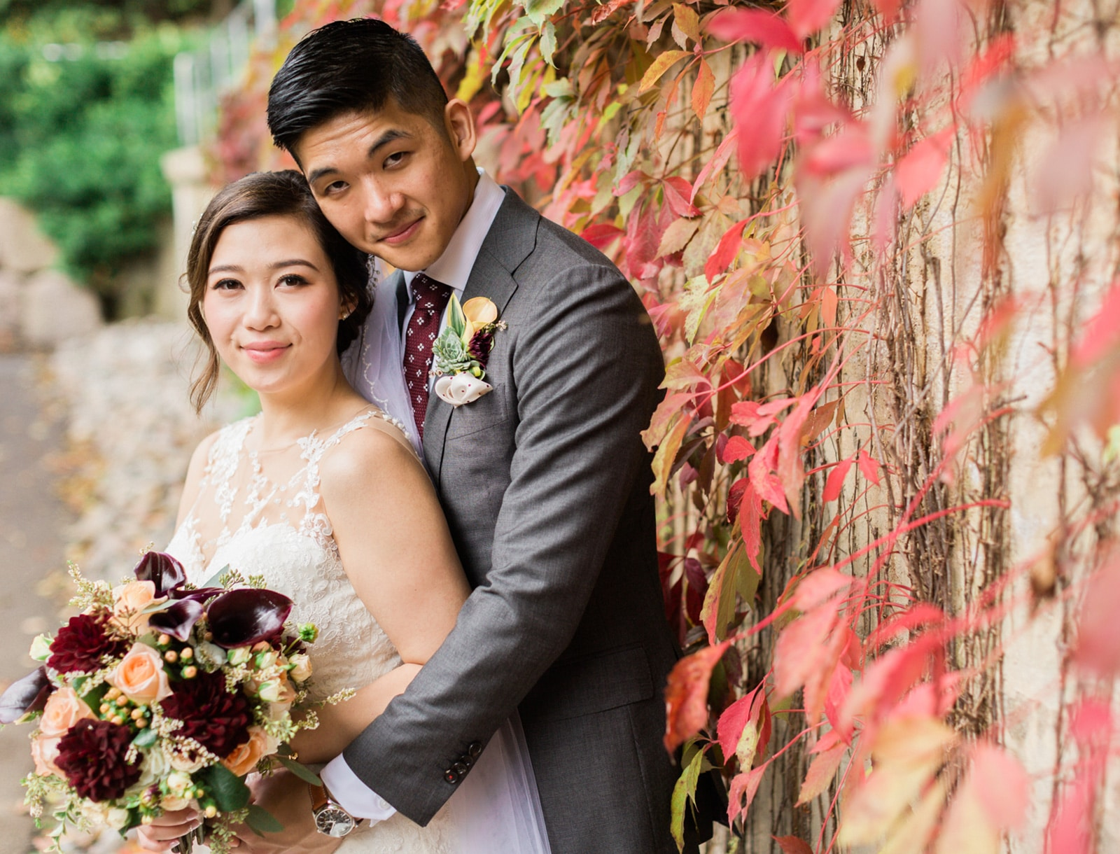 Toronto Fall Inspired Wedding Photos: Isabelle + Eric