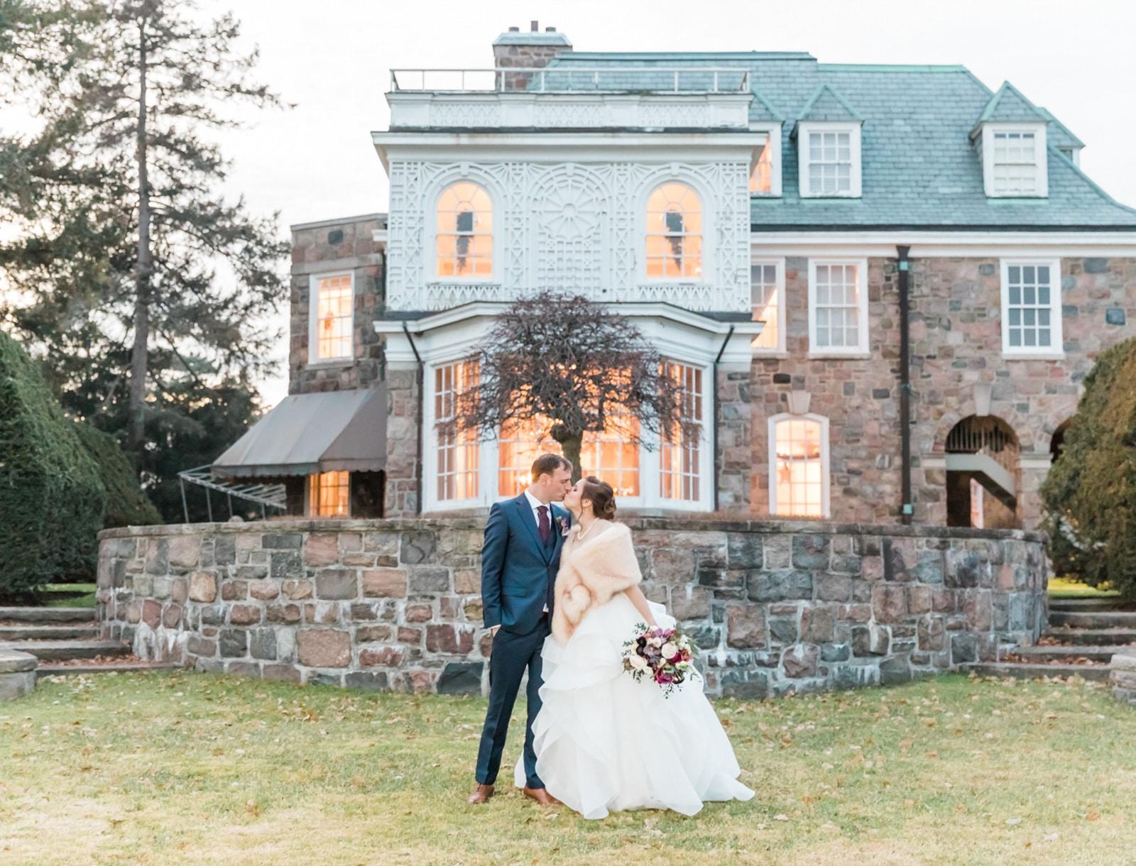 Estates of Sunnybrook Winter Wedding: Crystal + Michael