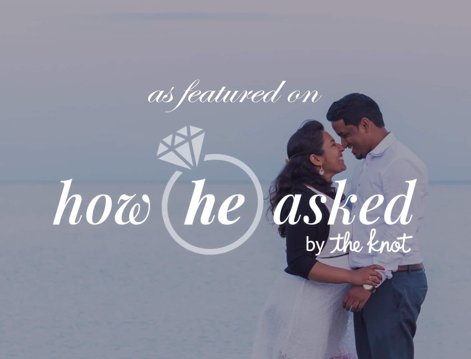 Featured on How He Asked: Ramiya + Kumaran Proposal