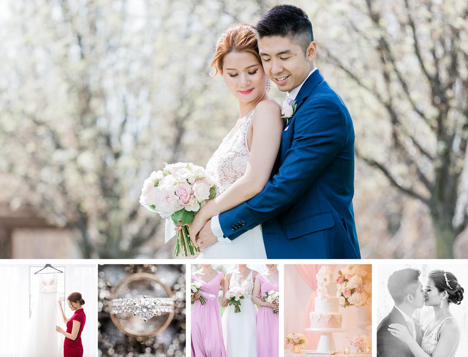A Pretty Spring Wedding at Paradise Banquet Hall: Leah + Philip