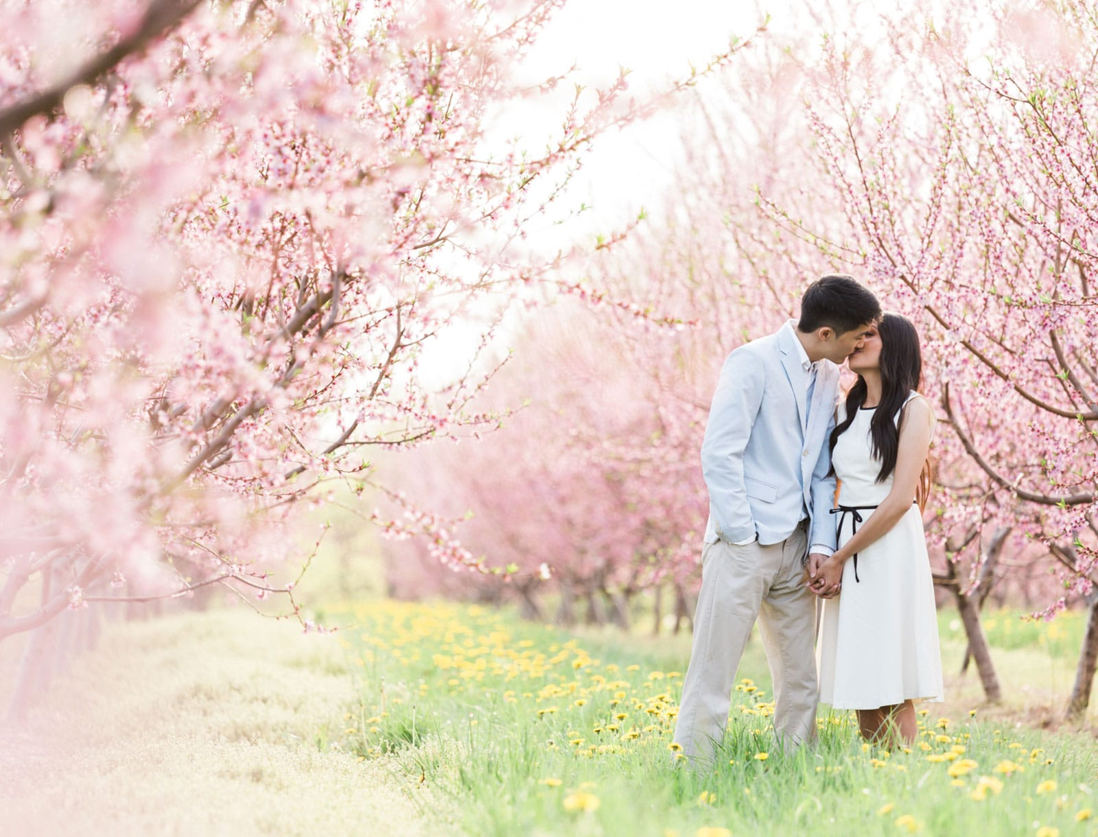 Whimsical + Romantic Engagement Session in Niagara: Cindy + Andrew