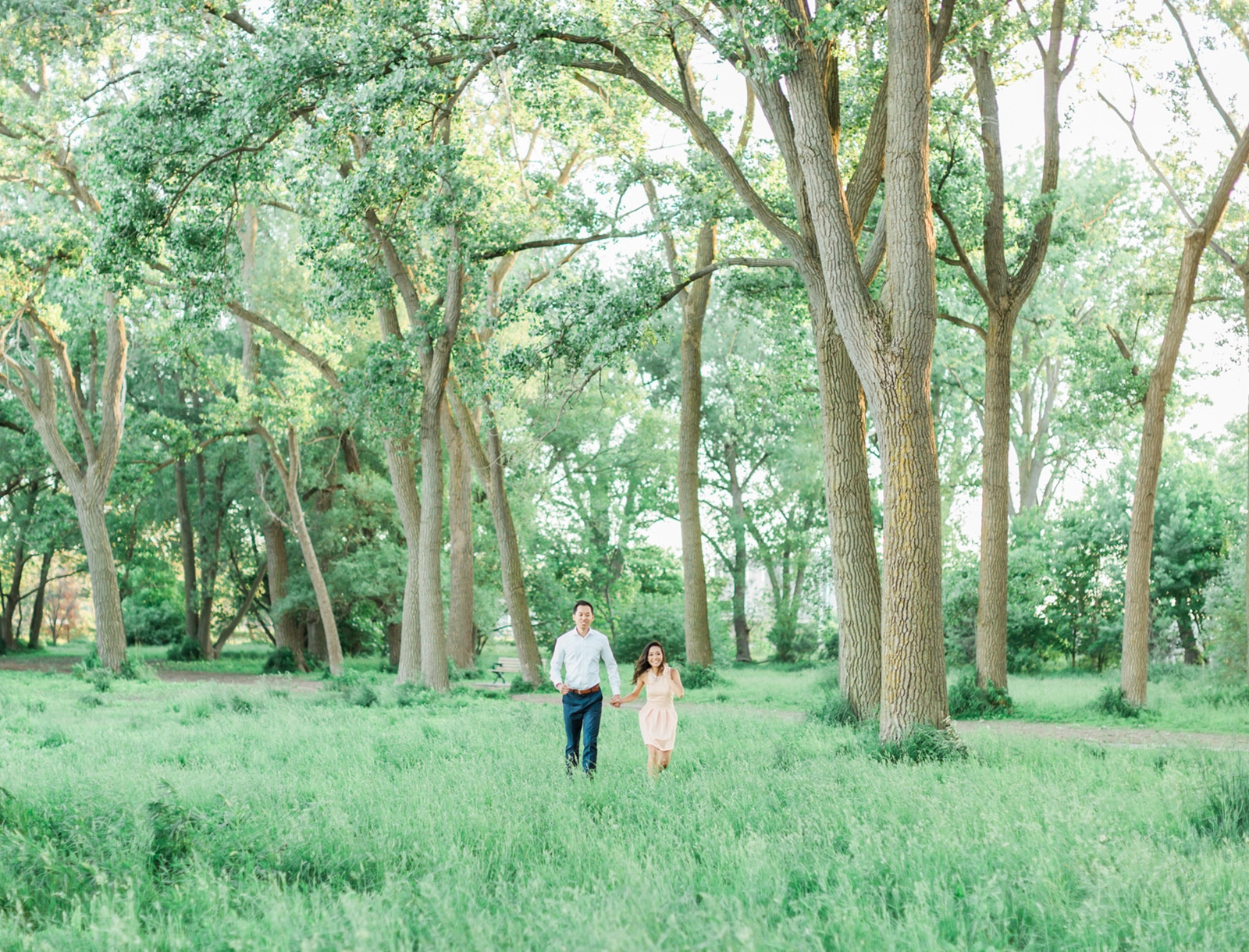 Natural Engagement Session: Joelle + Ernest