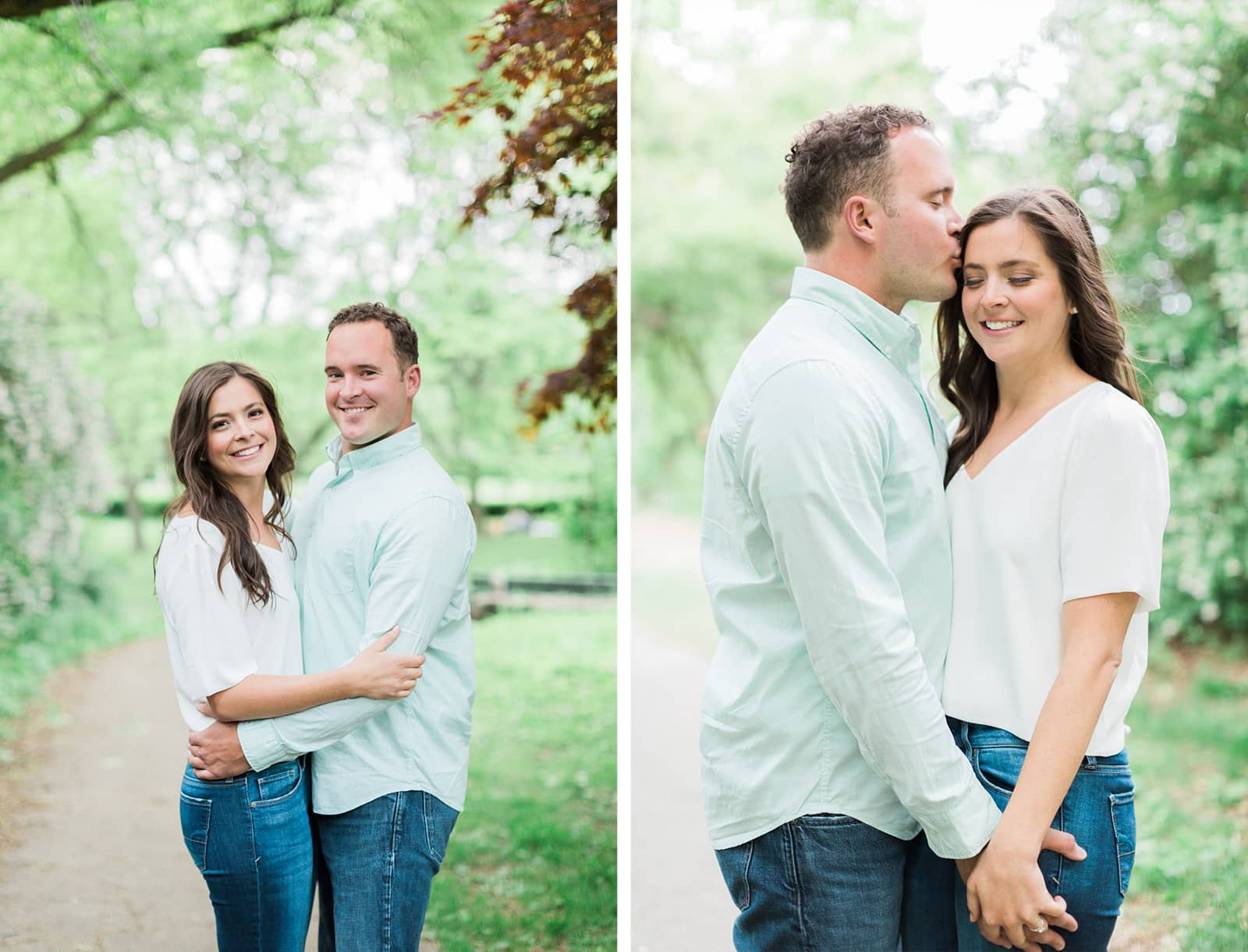 Natural Engagement Session at High Park: Kate + Kyle