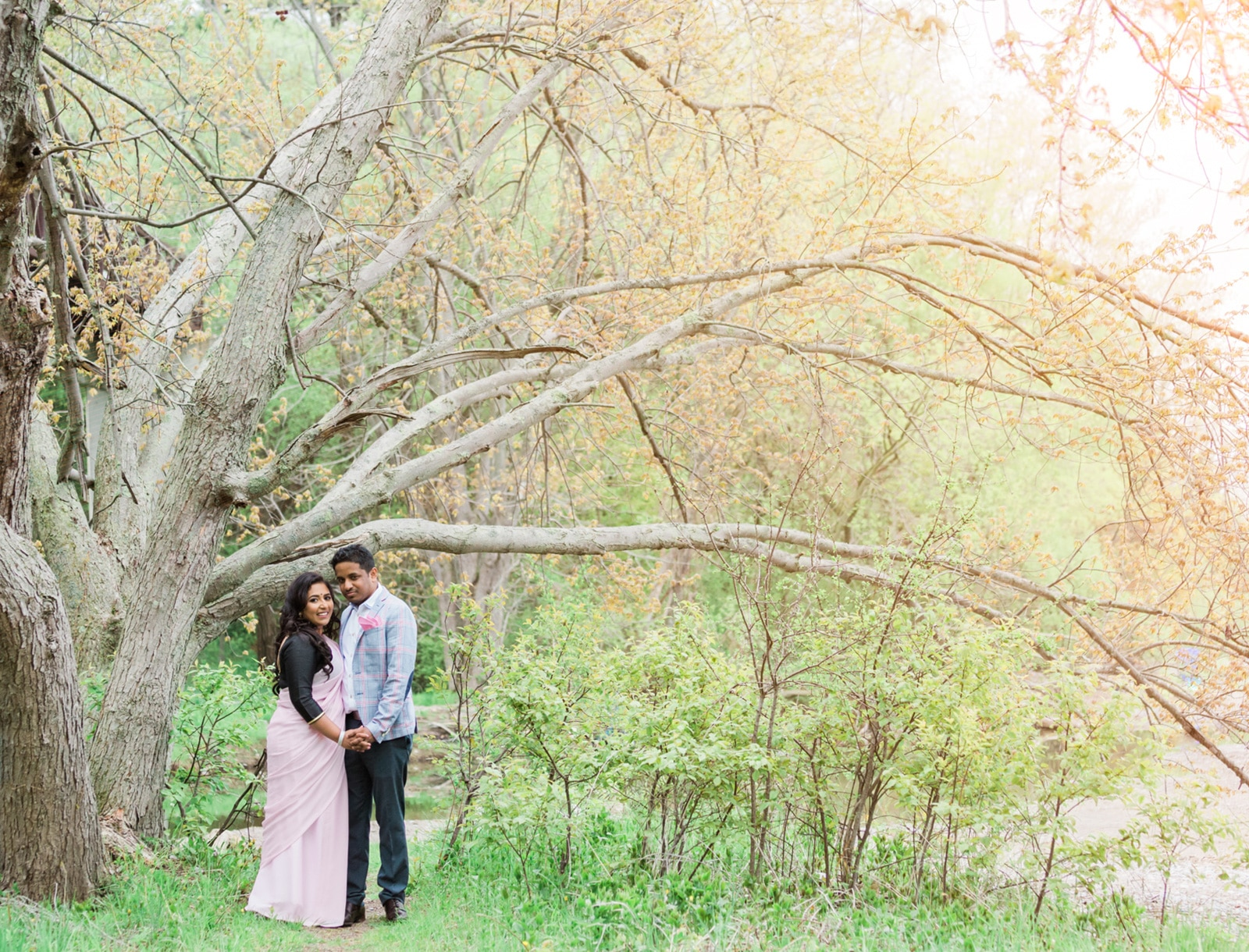 Toronto Fairytale Engagement Session: Ramiya + Kumaran