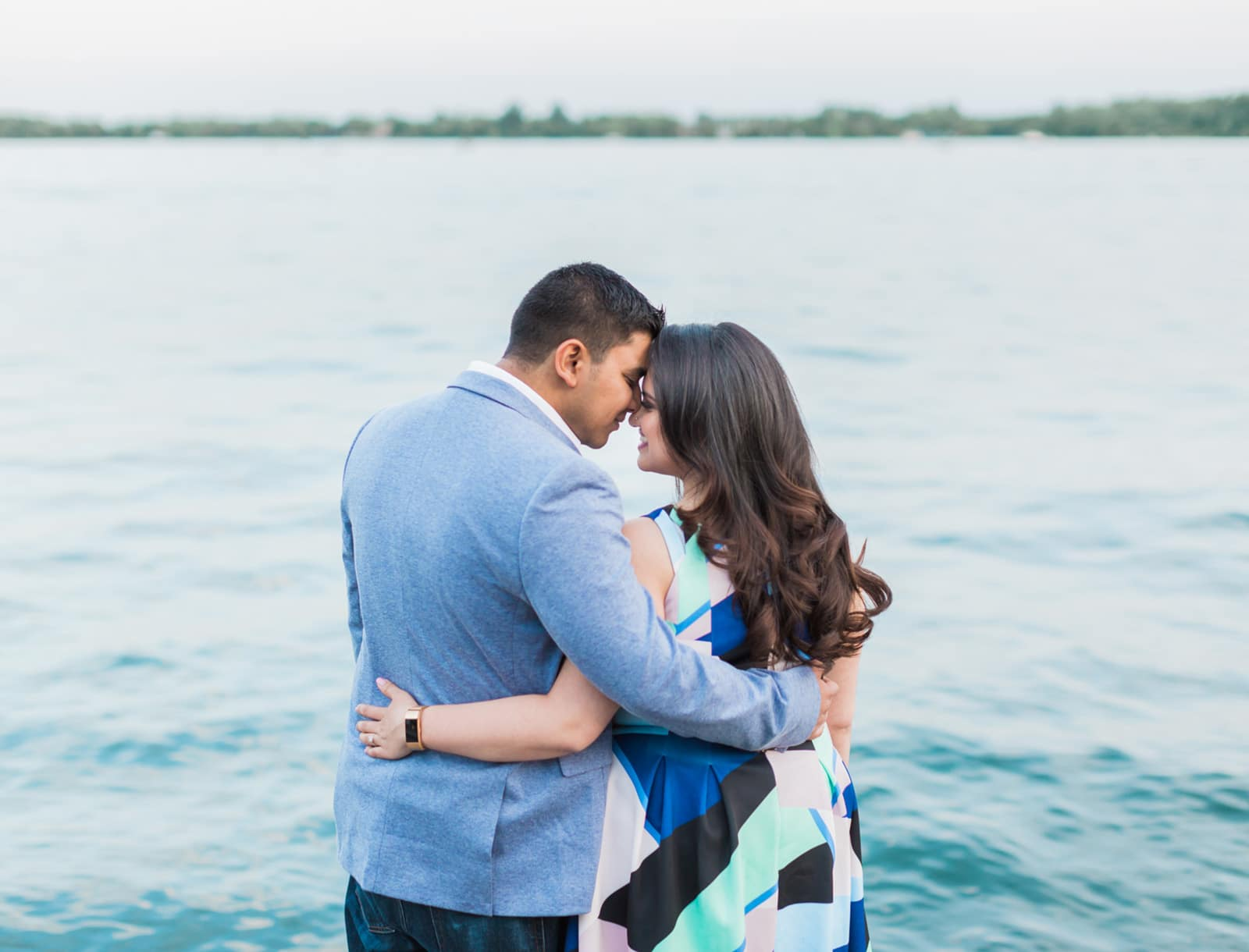 A Sweet Toronto Harbourfront Engagement: Anum + Hussain