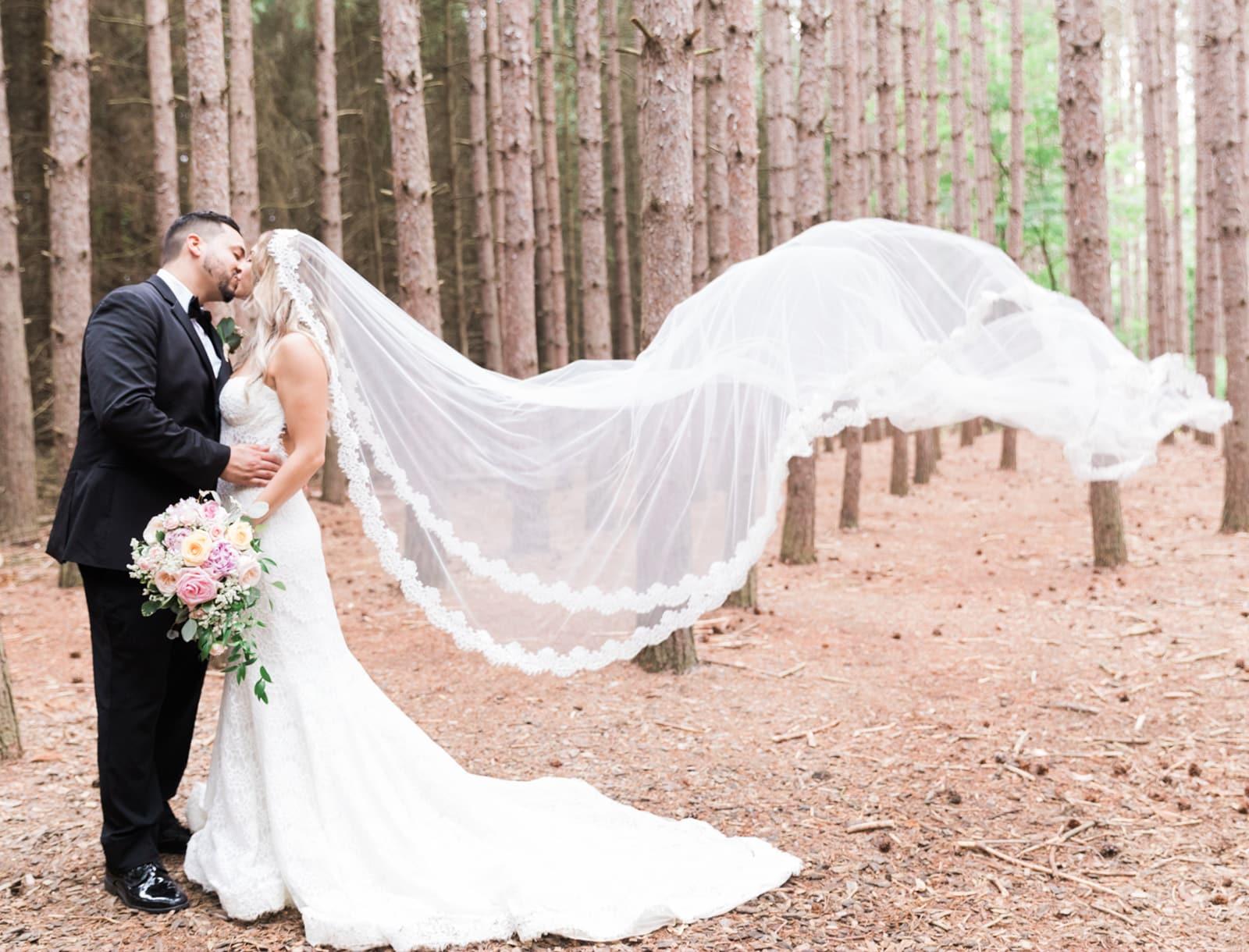 Classic + Glamorous Italian Forest Wedding: Josephine + Jon