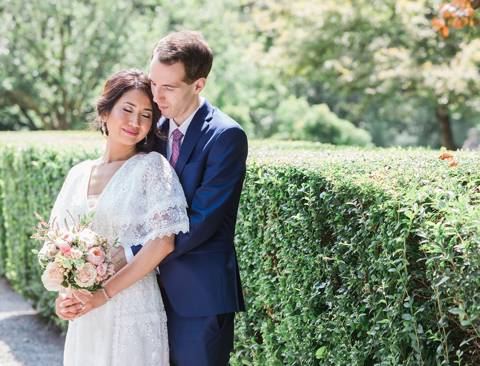 Beautiful Jewish Fusion Summer Wedding: Brookie + Matthew