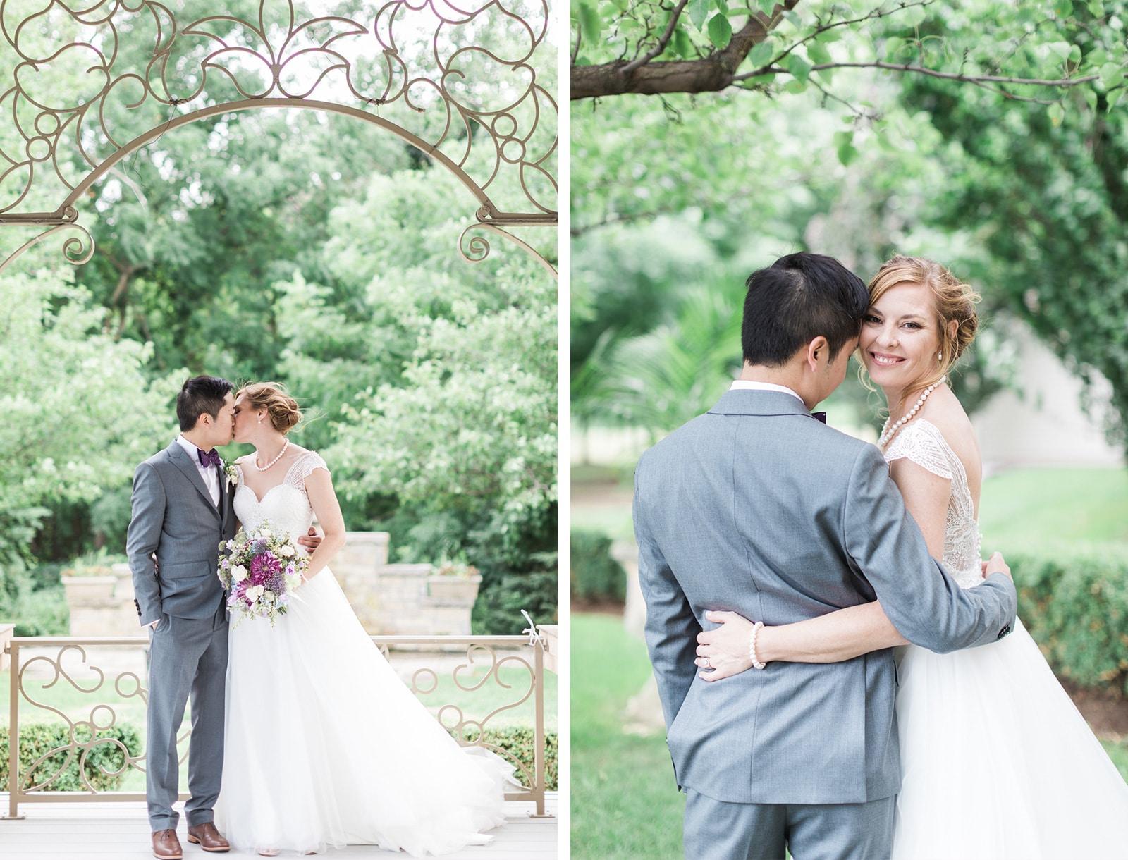 Outdoor Garden Wedding at Ascott Parc: Allison + Jason