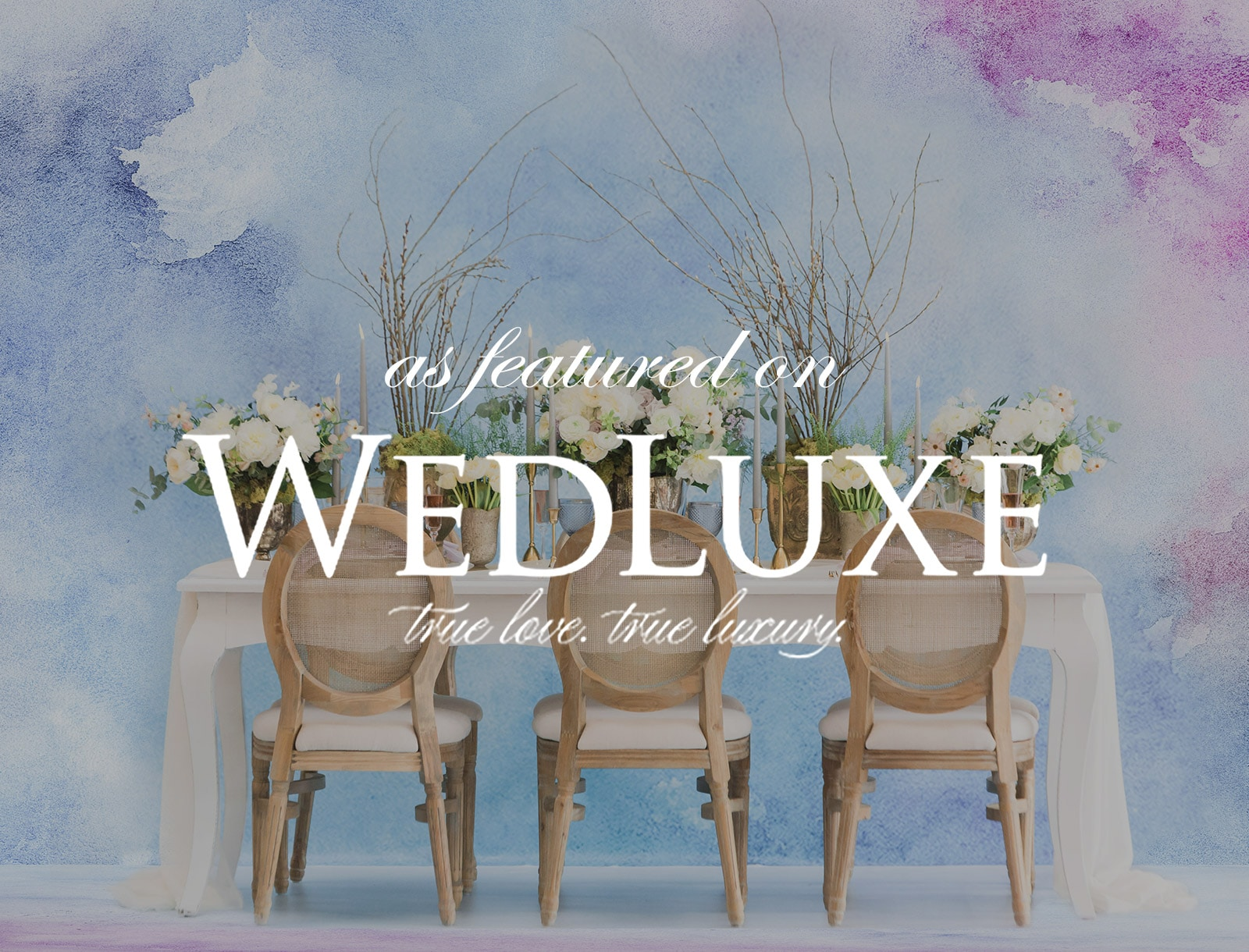 Featured on WedLuxe: Inspired by Monet