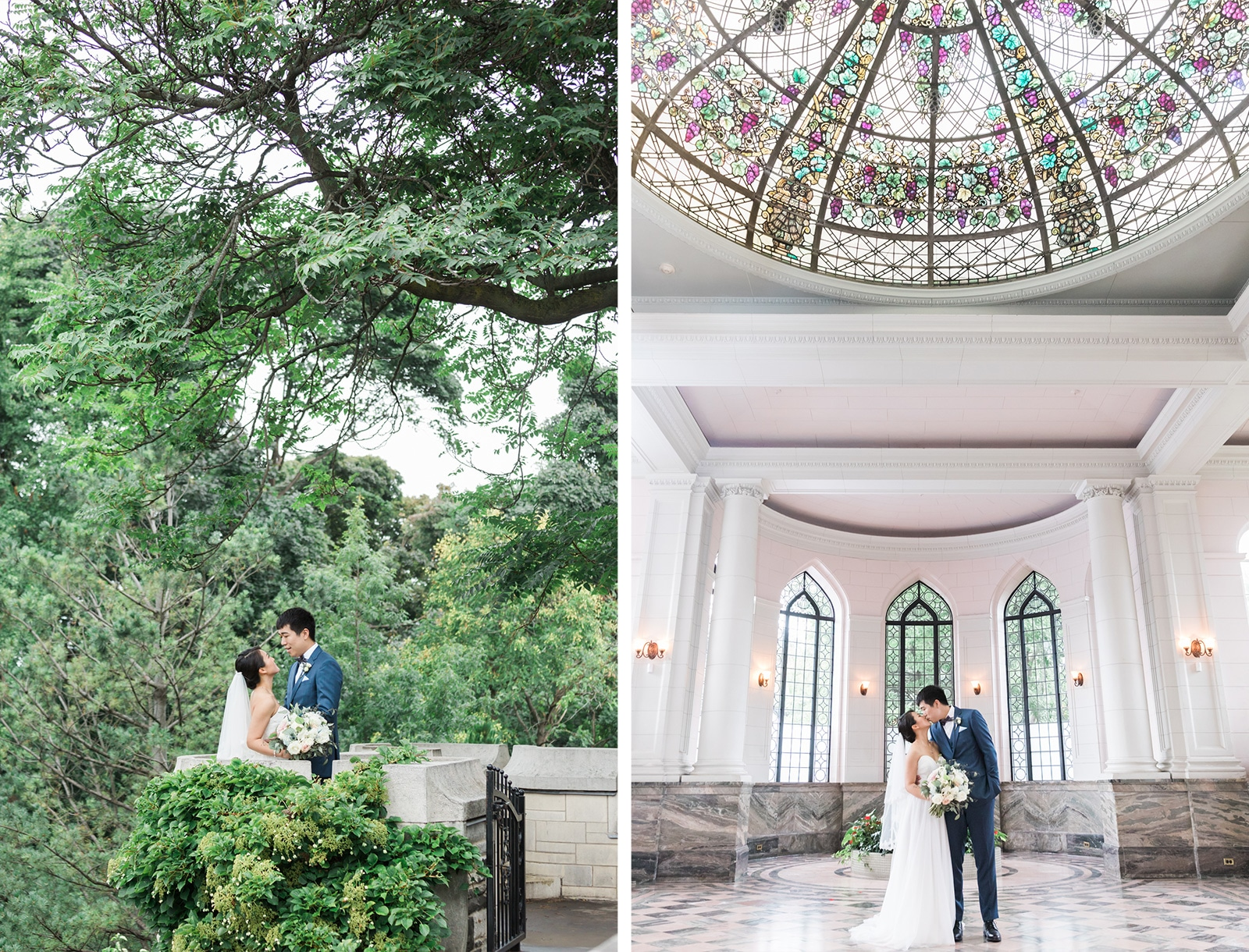 Toronto Casa Loma + Old Mill Wedding: Alice + Chang