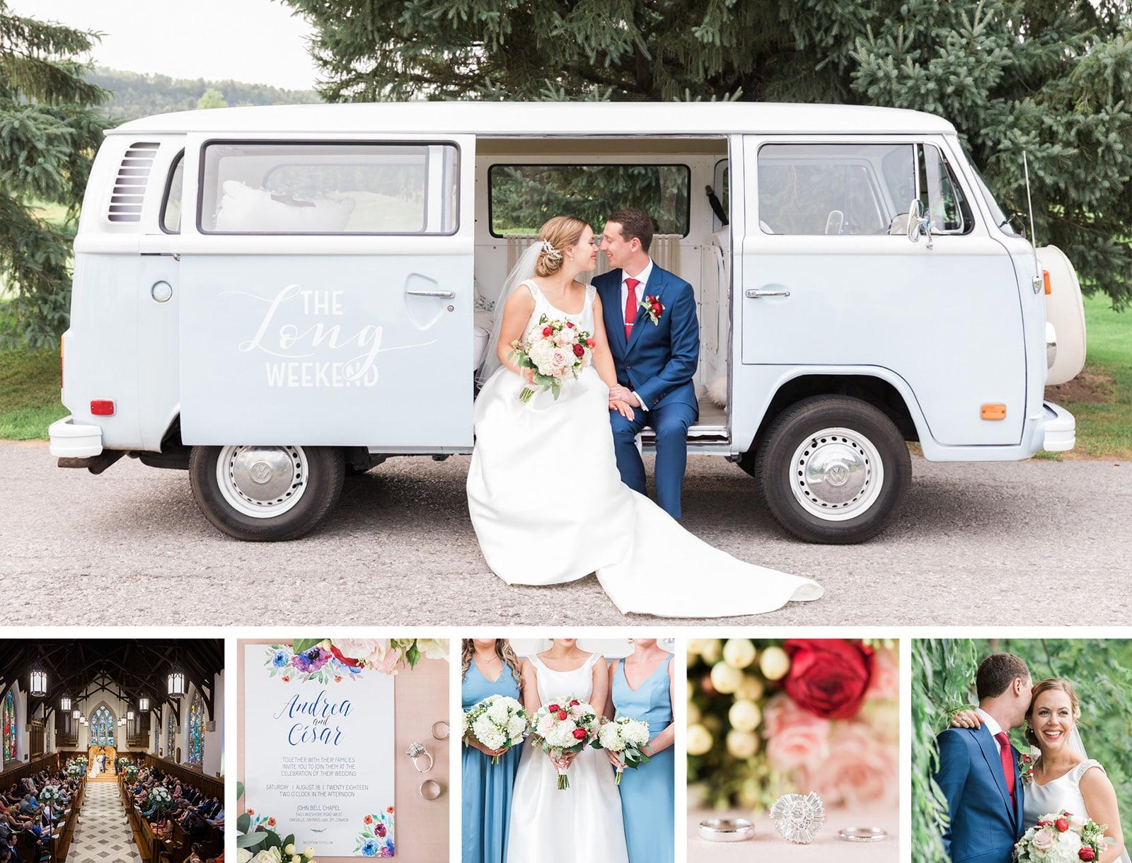 Gorgeous Chapel & Golf Club Wedding: Andrea + Cesar