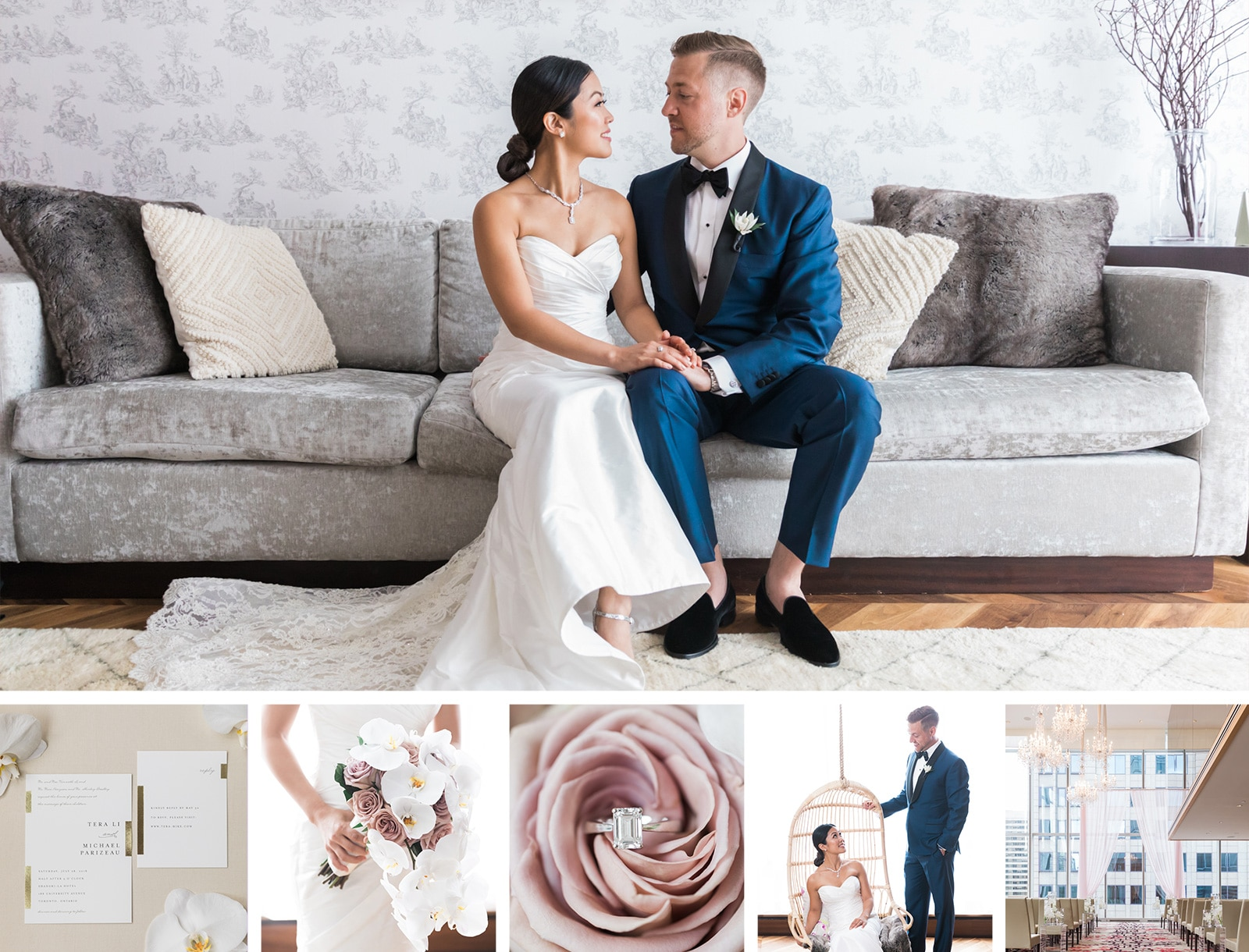 Classic Shangri-La Hotel Wedding: Tera + Michael