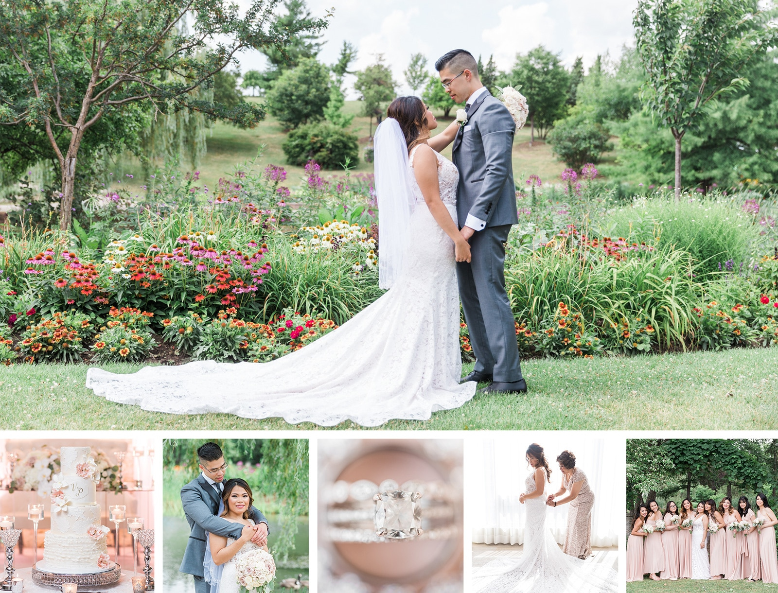 Romantic Church Wedding at The Manor: Vanessa + Paul